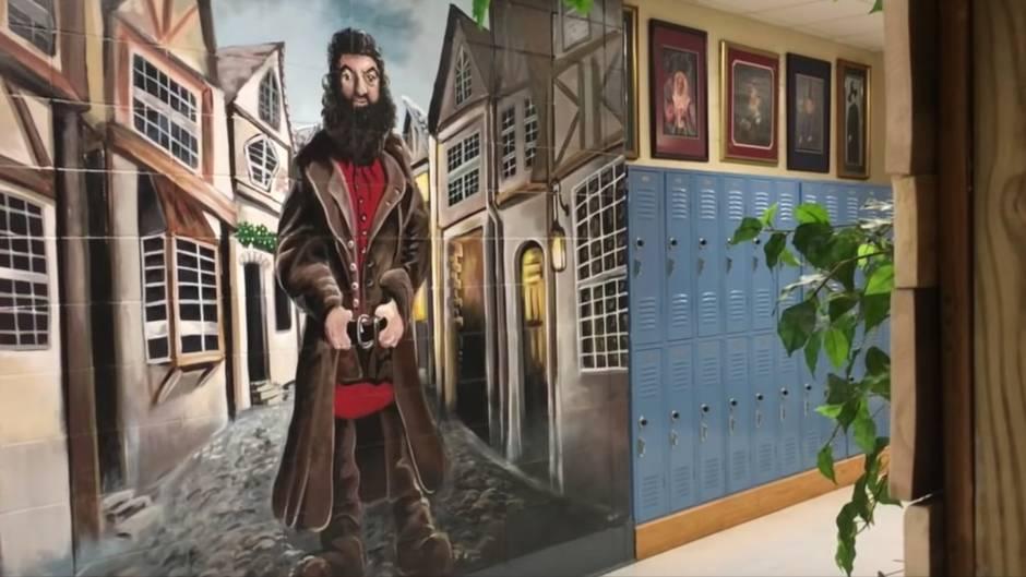 """Traum für """"Harry Potter""""-Fans: In dieser amerikanischen Highschool sieht es aus wie in Hogwarts"""