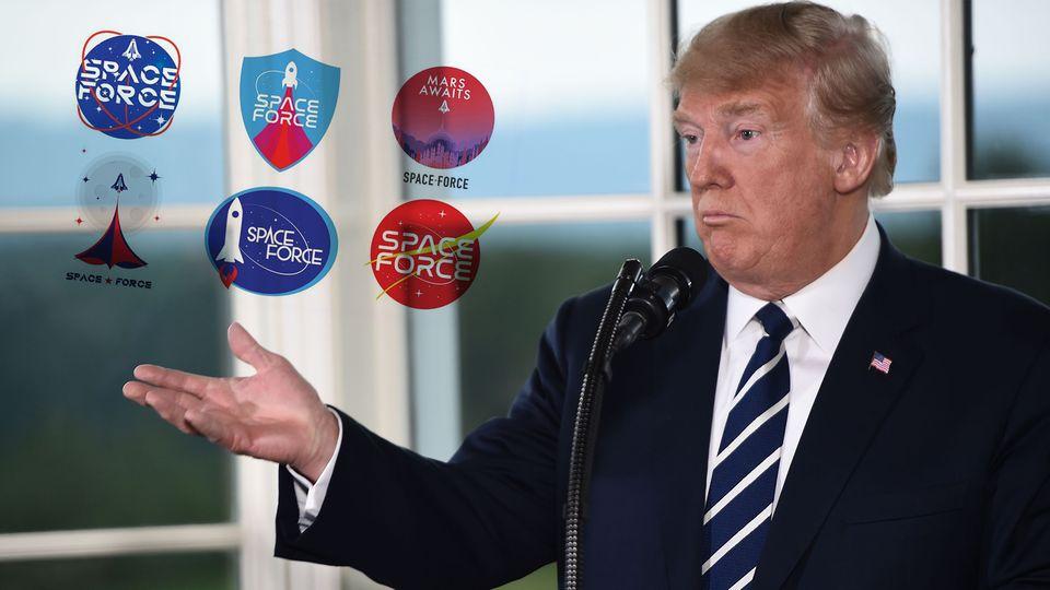"""Kontrolle des Erdorbits: US-Space Command: Donald Trump strebt die """"Vorherrschaft im Weltall"""" an"""