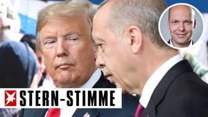 Donald Trump gegen Recep Tayyip Erdogan