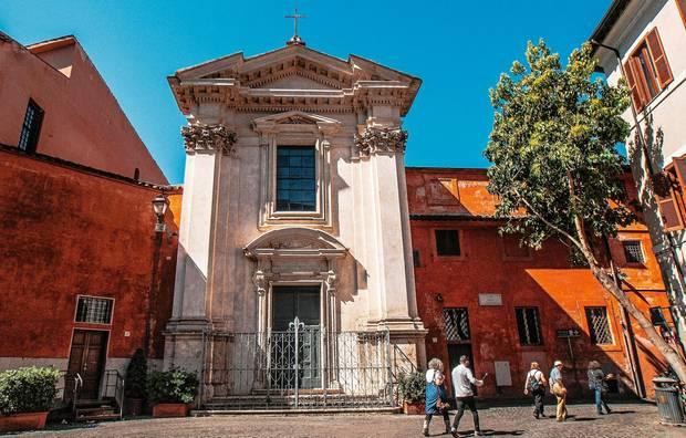 Die Zentrale der Gemeinschaft in Rom
