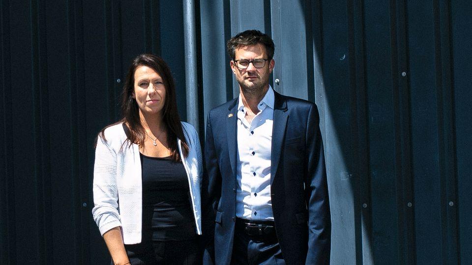 Tanja und Jürgen Burkhard stehen für den Mittelstand und wollen nicht akzeptieren, dass Mitarbeiter abgeschoben werden