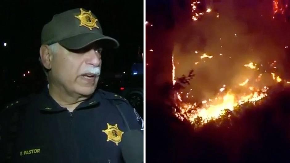 """Flugzeugabsturz in Seattle: Sheriff Paul Pastor: """"Ich glaube, dass da Jemand etwas falsches und dummes gemacht hat"""""""