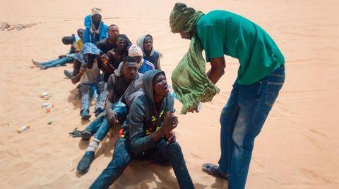 Wüstenstaat Niger: Die EU möchte Migranten schon vor Ort aufhalten