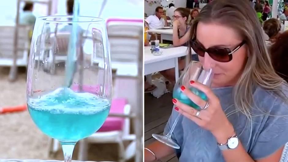 Umstrittener Rebensaft: Blauer Wein – an diesem Tropfen scheiden sich die Geister