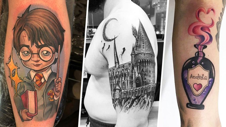 Lumos!: Diese Harry-Potter-Tattoos zeigen, wie tief Fan-Liebe gehen kann