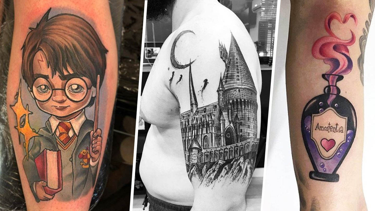 Raw Af Tattoo Collections Harry Potter Drawings
