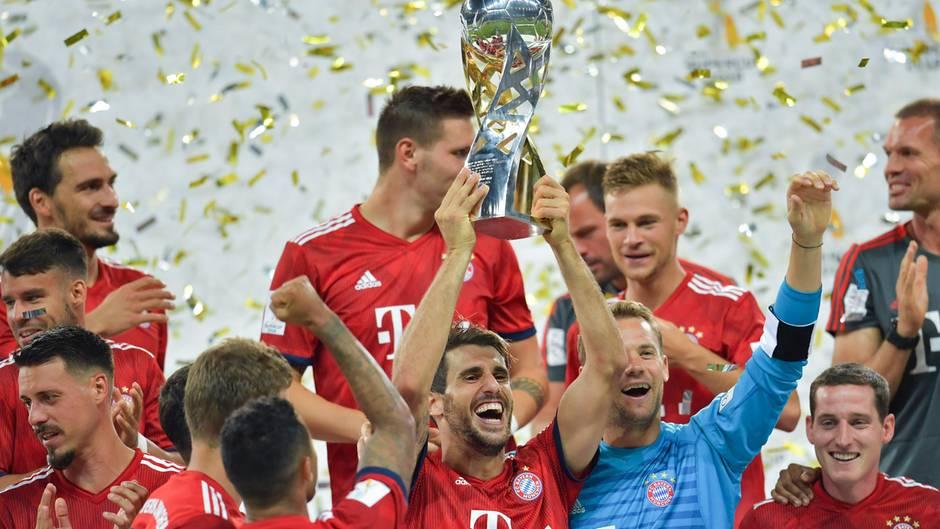 Bayern München mit Supercup