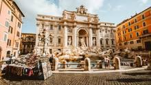 Trevi-Brunnen in Rom