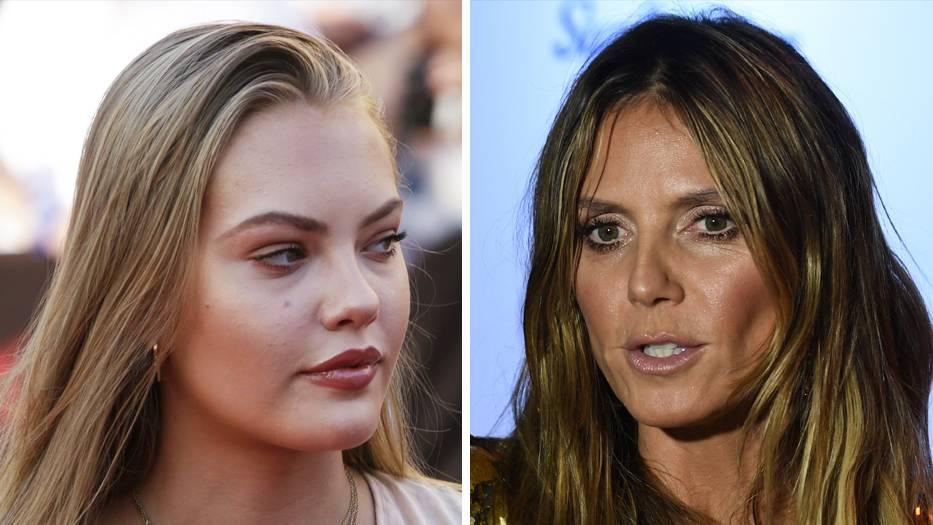 """Model-Schlagabtausch: So bissig reagiert Heidi Klum auf die """"GNTM""""-Absage von Cheyenne Ochsenknecht"""