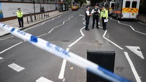 Terrorermittler untersuchen den Vorfall von London