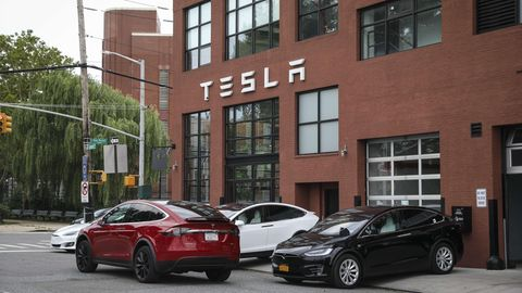 Tesla-Händler in New York City