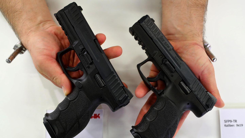 Die SFP 9, die neue Dienstpistole der Polizei, gilt als gute Waffe.