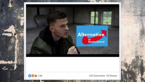 "Ausschnitt aus dem Musikvideo zu ""ABER"""