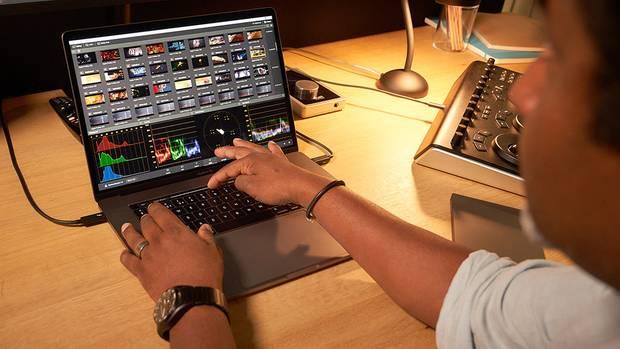 Das Macbook Pro wird vor allem von Grafikern, Cuttern und Videobearbeitern genutzt.