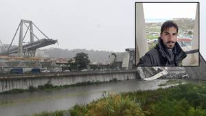 Davide Capello überlebte das Unglück in Genua