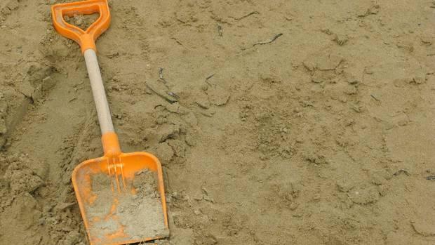 Frankreich - Atlantik - Sandloch - Ertrinkungstod