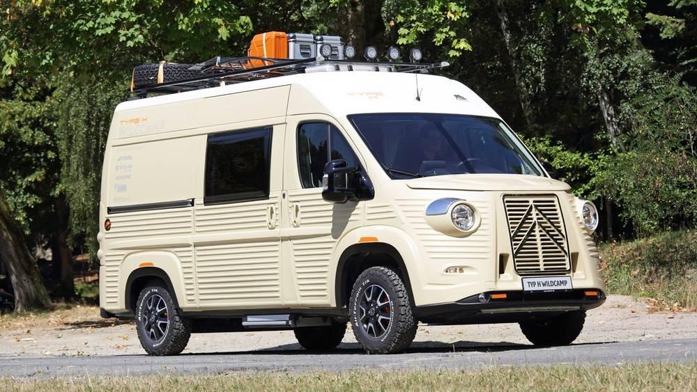 Caravan Salon: Type H - Citroën zeigt modernen Camper im Retro-Look
