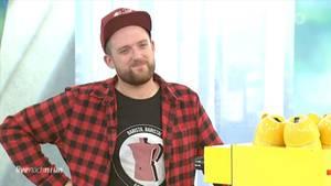 """Carlo Graf Bülow in der ARD-Sendung """"Live nach neun"""""""