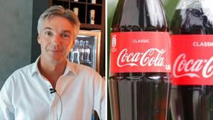 Tim Brett,Präsident der Coca-Cola-Company, ist für Western Europe zuständig.