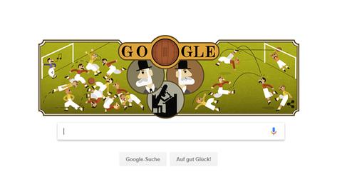 Google Doodle für Ebenezer Cobb Morley