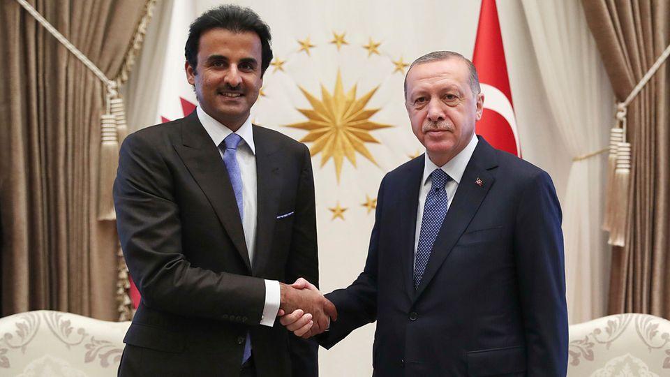 Katar sagte Milliarden an Erdogan zu