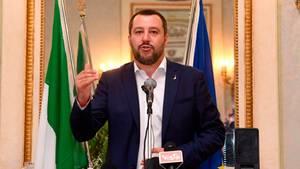 Matteo Salvini Genua