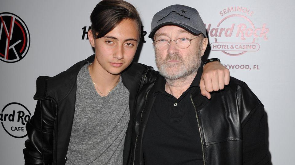 Genesis-Reunion mit Phil Collins und seinem Sohn Nicholas Collins?