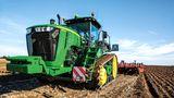 Der US-amerikanische Hersteller Deere & Company baut nicht nur den viertplatzierten Traktor 9620RX, sondern bietet auch ein kompakteres Modell an. Der John Deere 9570RX leistet 628 PS mit seinem 15 Liter-Hubraum-Motor.