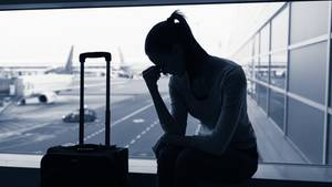 Depression: Am Flughafen