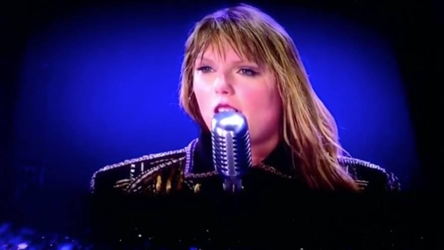 Sexuelle Übergriffe: Taylor Swift unterbricht ihr Konzert - für eine emotionale Rede