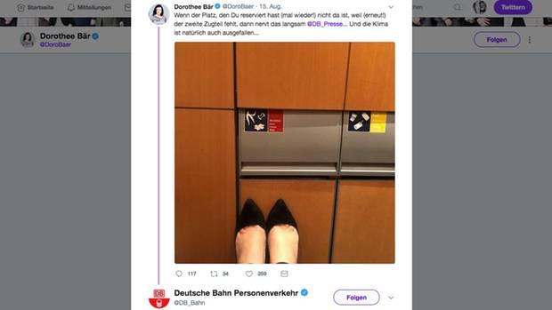 Tweet von Dorothee Bär