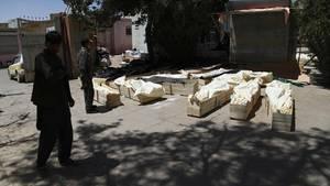 Afghanistan: Opfer eines Überfalls der Taliban auf Kontrollposten und eine Militärbasis