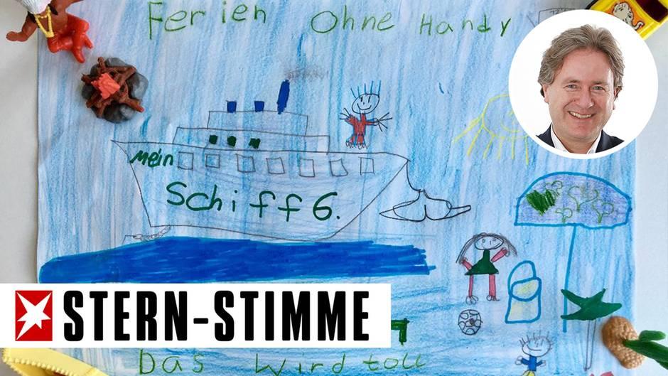 Der Auslöser für den handyfreien Urlaub war der Wunsch von Frank Behrendts Tochter Holly. Von ihr stammt dieses Bild.