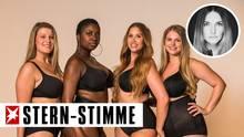 "Die ""Curvy Supermodel""-KandidatinnenAlina, Pamiche, Larissa, Sabrina (v.l.n.r.)"