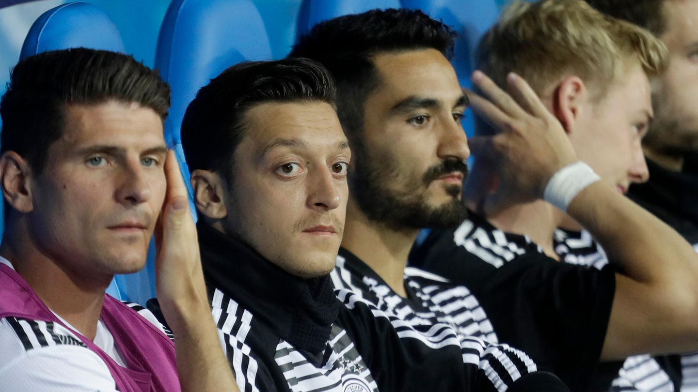Nationalelf Mesut Özil Ilkay Gündogan