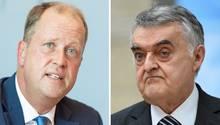 Wegen des Falls Sami A. unter Beschuss (v.l.): Die NRW Minister Joachim Stamp (FDP), Herbert Reul (CDU)
