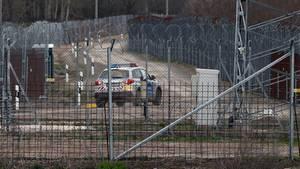 Schwer gesichert gegen Flüchtlinge: die ungarische Grenze zu Serbien