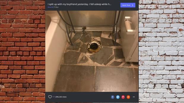 Toilette ist weg Reddit