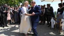 Auf ein Tänzchen mit Wladimir: Die Braut und der russische Präsident