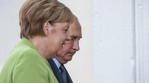 Angela Merkel und Wladimir Putin