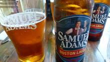 Bier der Bostoner Brauerei Samuel Adams