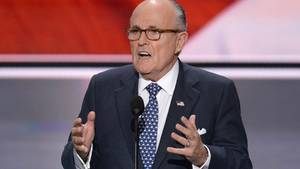 Rudolph Giuliani Donald Trump