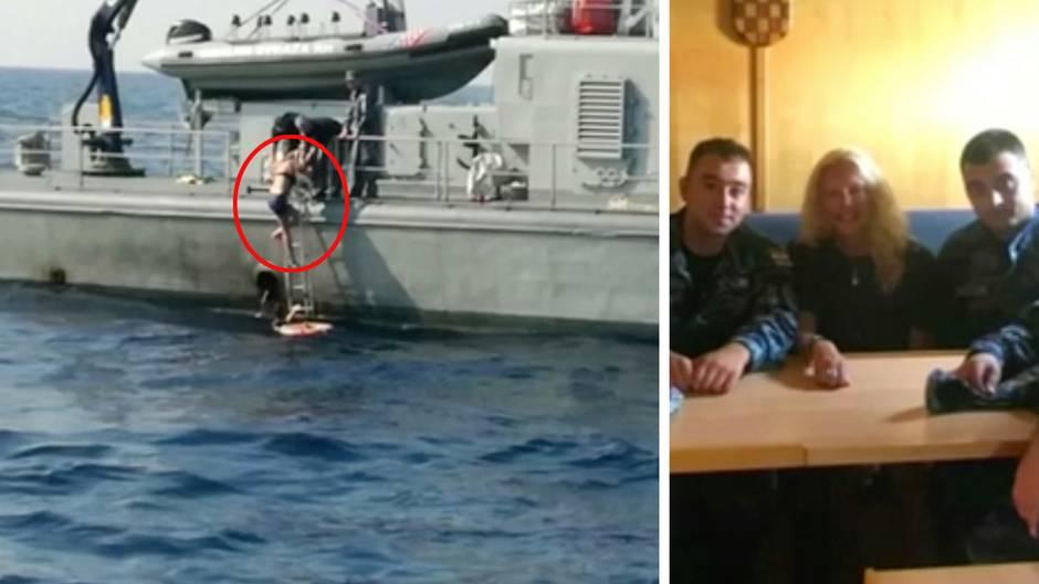 Adria: Britin fällt von Kreuzfahrtschiff - und wird nach zehn Stunden gerettet
