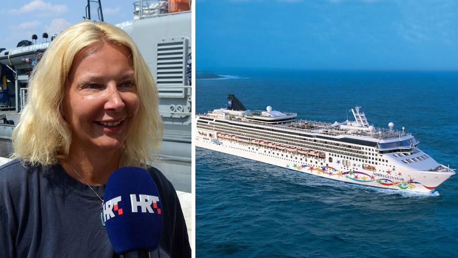 """Kay L. und das Kreuzfahrtschiff """"Norwegian Star"""""""