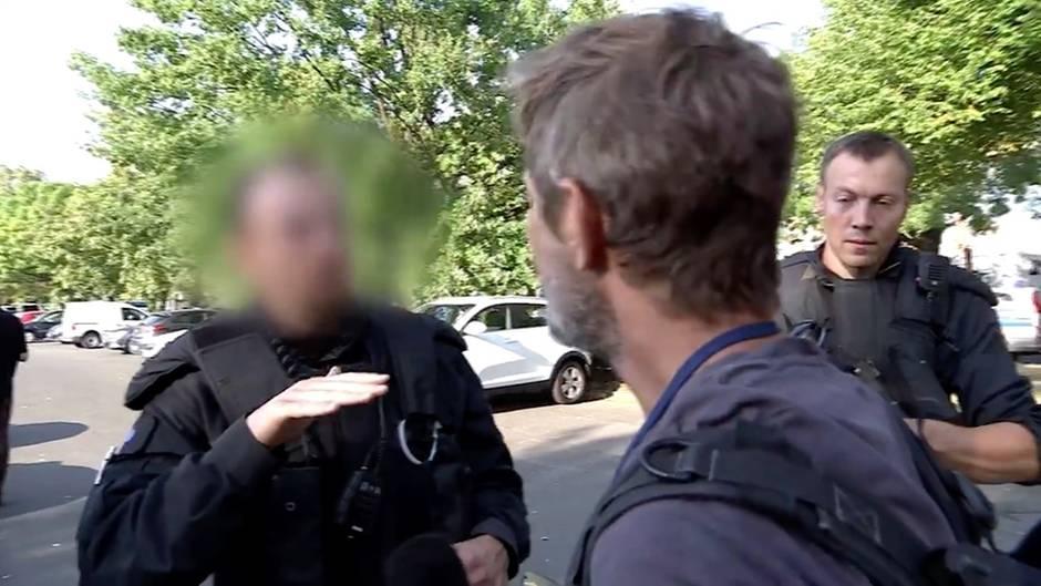 Demo bei Merkel-Besuch: ZDF-Team: Polizeieinsatz behindert Journalisten