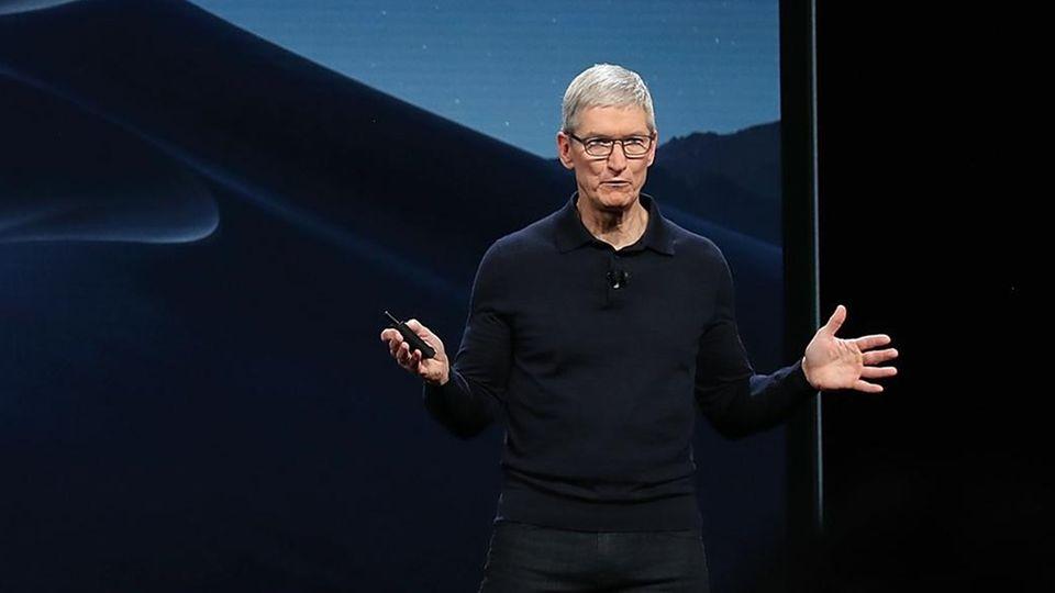 Apple-Chef Tim Cook wird im Herbst ein Produktfeuerwerk zünden