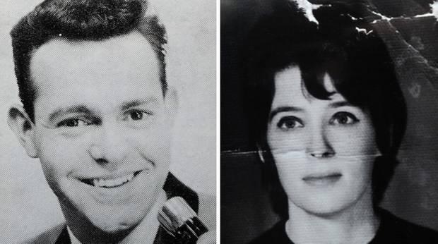 Ron Owen und Ruth Holt auf Fotos aus den 1950er Jahren