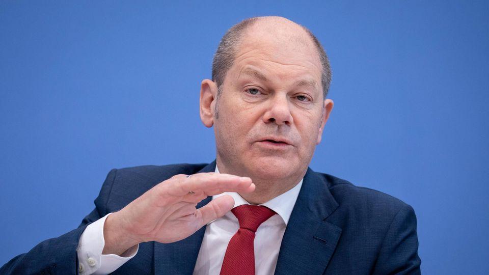 Bundesfinanzminister Olaf Scholz (SPD) hat eine Rentendiskussion losgetreten