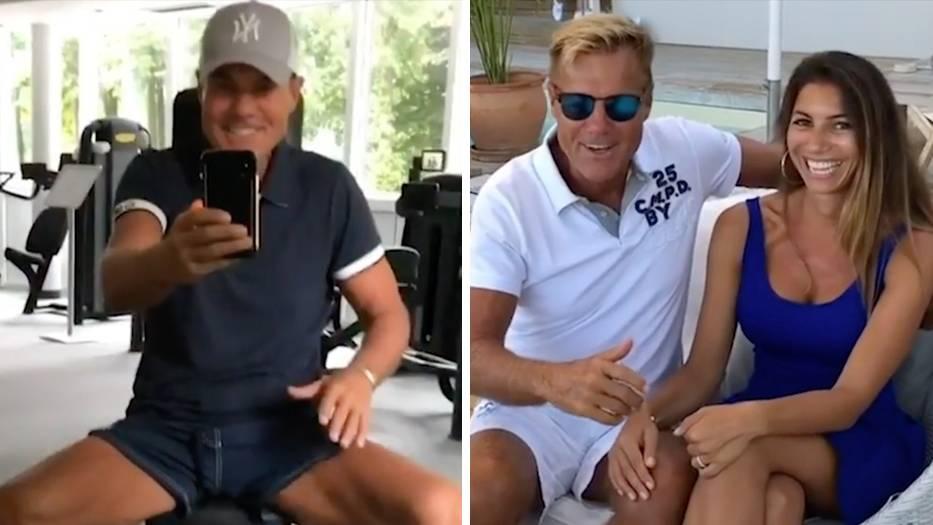 #DietersTagesschau : Dieter Bohlen zeigt sich ganz privat – auch Freundin Carina wird präsentiert