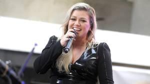 Kelly Clarkson auf der Bühne